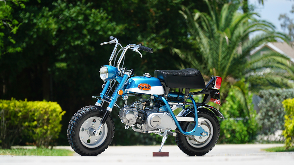 Lot #6290 in the upcoming Online Only Auction is a beautifully restored 1971 Honda Z50 K2 minibike.