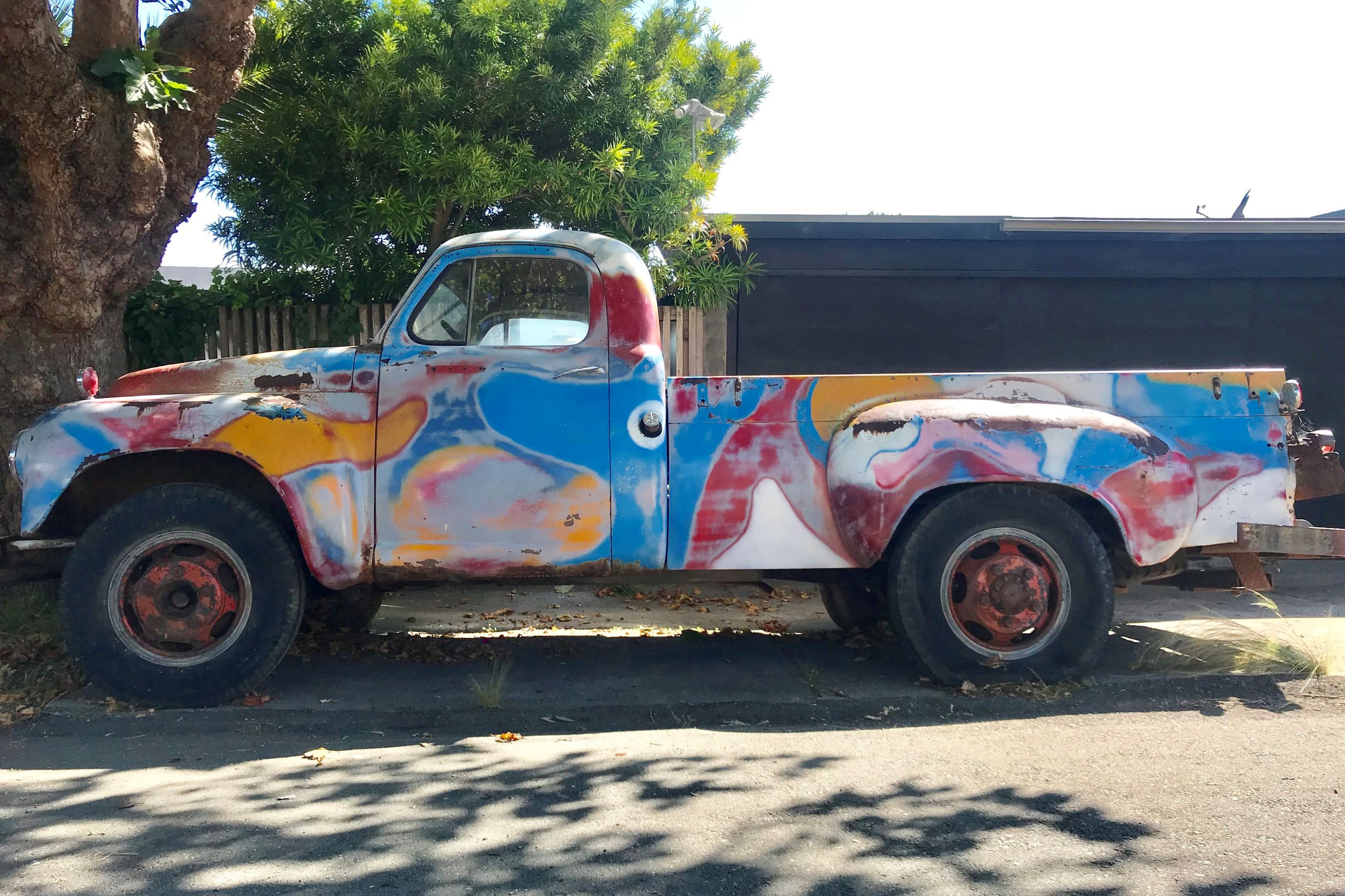GRATEFUL DEAD'S 1949 STUDEBAKER M5 TRUCK 4mp