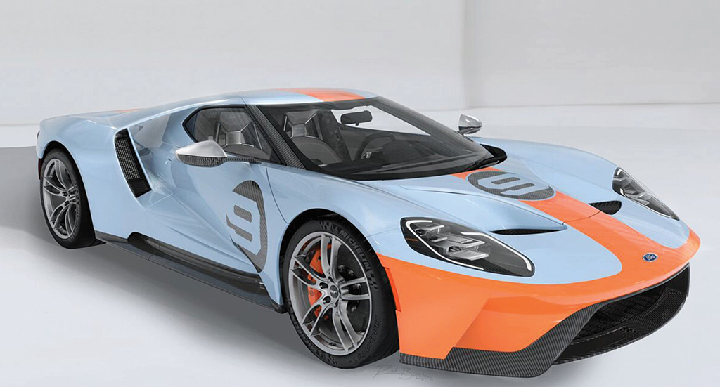 Lot 3012 - 2019 Ford GT Heritage