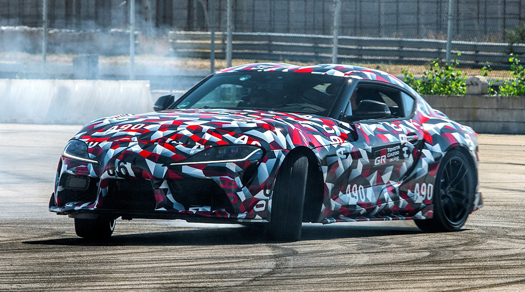 The first-production 2020 Toyota Supra, VIN 20201, will be sold for charity at the 2019 Scottsdale Auction.