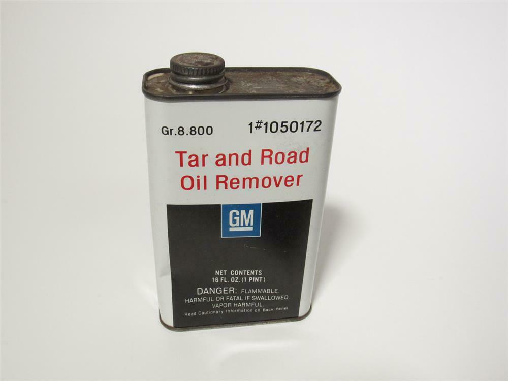 Circa 1960s GM Tar and Road Oil Remover 1-pint tin. - 218733