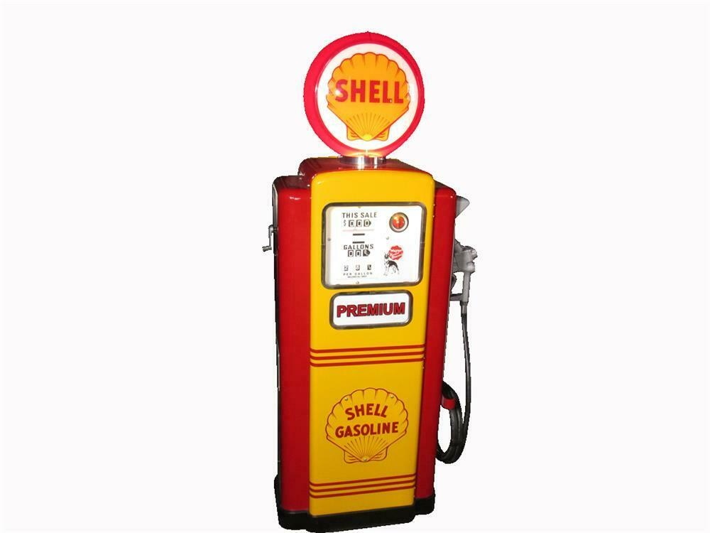 Exhibition Shell Jobs : Immaculate s shell oil wayne restored service