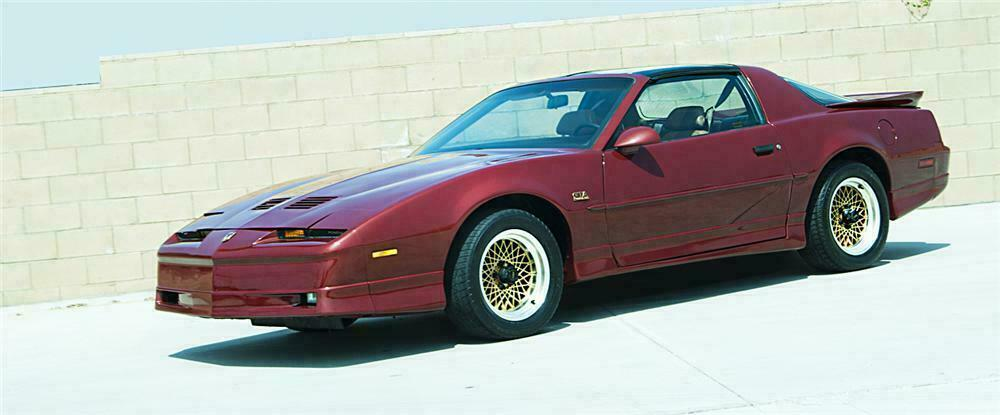 1989 PONTIAC FIREBIRD TRANS AM GTA 2 DOOR COUPE - Front 3/4 - 109353