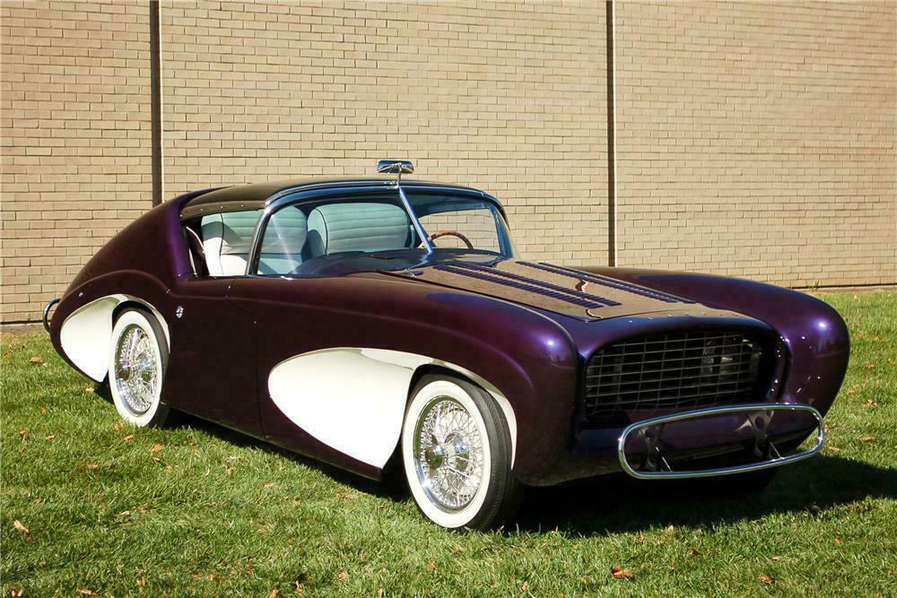 1955 FLAJOLE FORERUNNER COUPE CONCEPT - Front 3/4 - 115905
