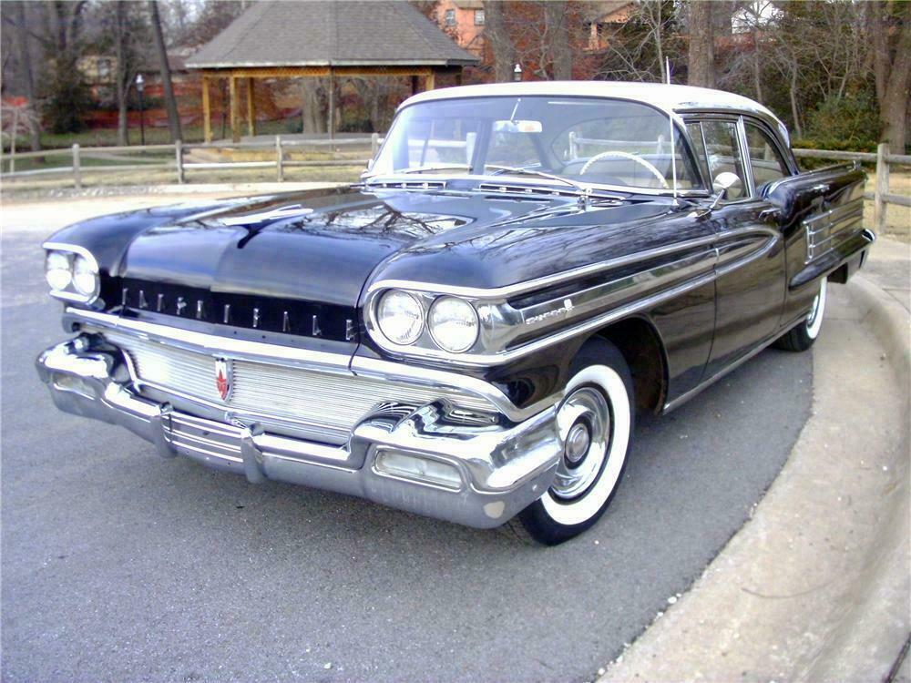 1958 OLDSMOBILE SUPER 88 4 DOOR SEDAN - Front 3/4 - 117360