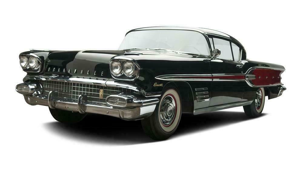 1958 PONTIAC BONNEVILLE 2 DOOR HARDTOP - Front 3/4 - 137827
