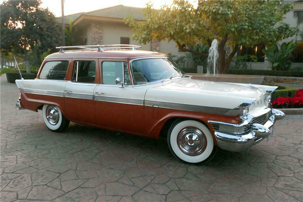 1957 PACKARD CLIPPER STATION WAGON - Front 3/4 - 138163