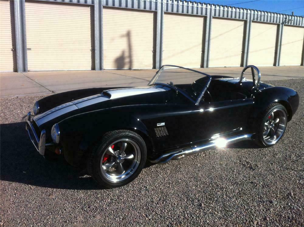1967 SHELBY COBRA RE-CREATION ROADSTER - Front 3/4 - 139260