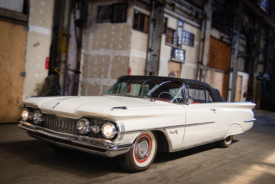 1959 OLDSMOBILE SUPER 88 CONVERTIBLE - Front 3/4 - 154239