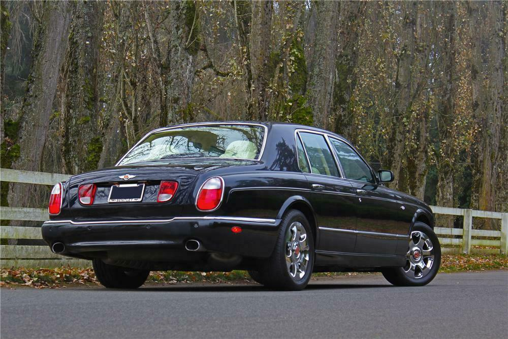 2000 BENTLEY ARNAGE RED LABEL 4 DOOR SEDAN