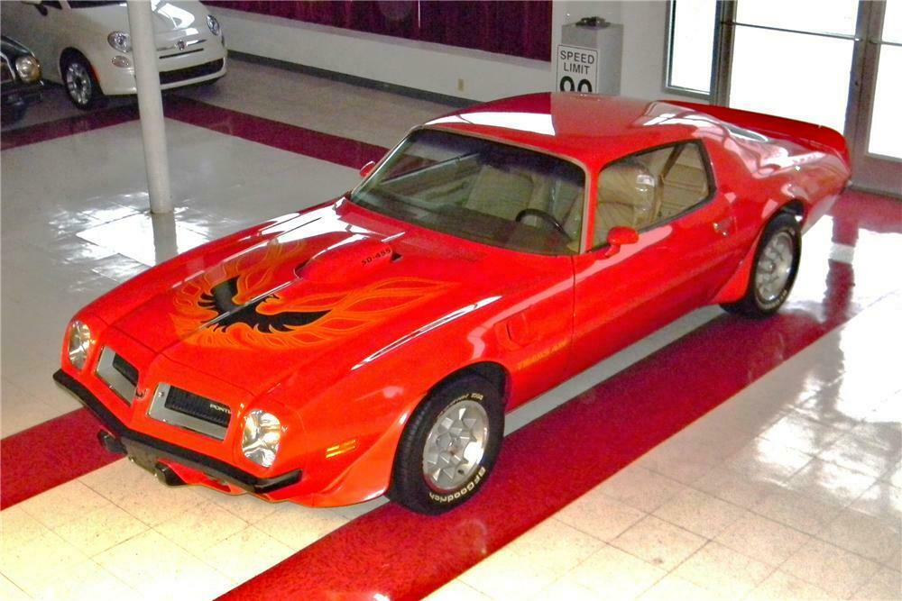 1974 PONTIAC FIREBIRD TRANS AM SD 2 DOOR COUPE - Front 3/4 - 163386