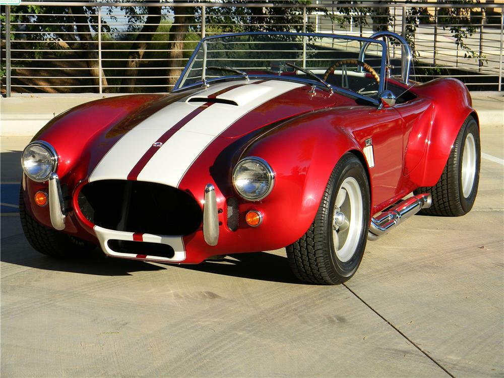 1967 SHELBY COBRA ROADSTER RE-CREATION - Front 3/4 - 181340