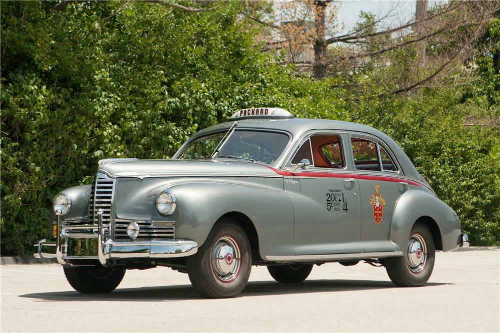 1947 PACKARD CLIPPER TAXI - Front 3/4 - 181581