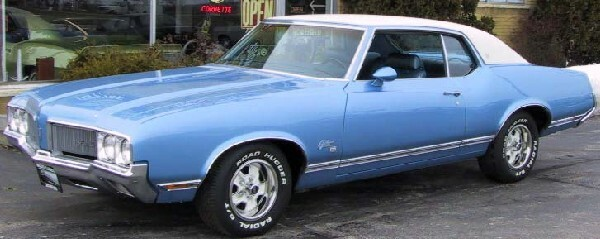 1970 OLDSMOBILE CUTLASS UNKNOWN - Front 3/4 - 18247