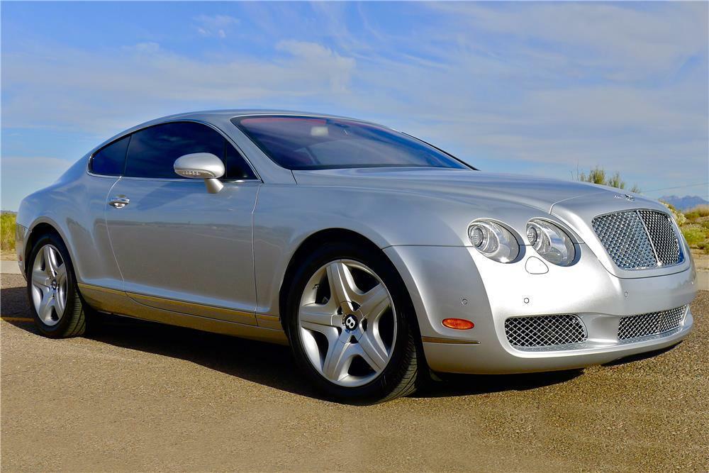 2005 BENTLEY CONTINENTAL GT  - Front 3/4 - 185479