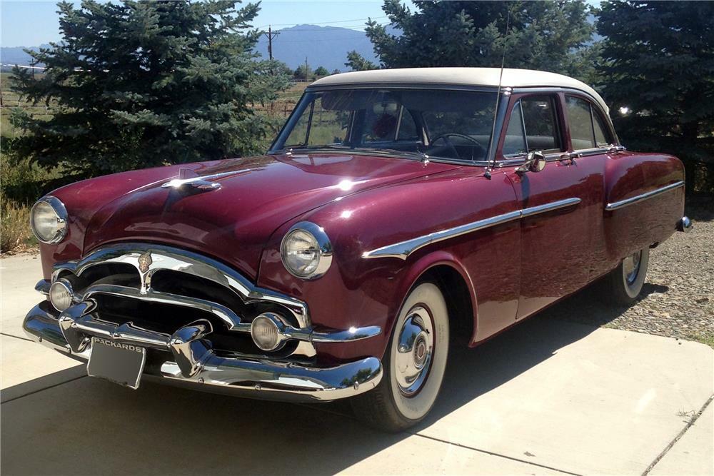 1953 PACKARD CLIPPER 4 DOOR SEDAN - Front 3/4 - 186476