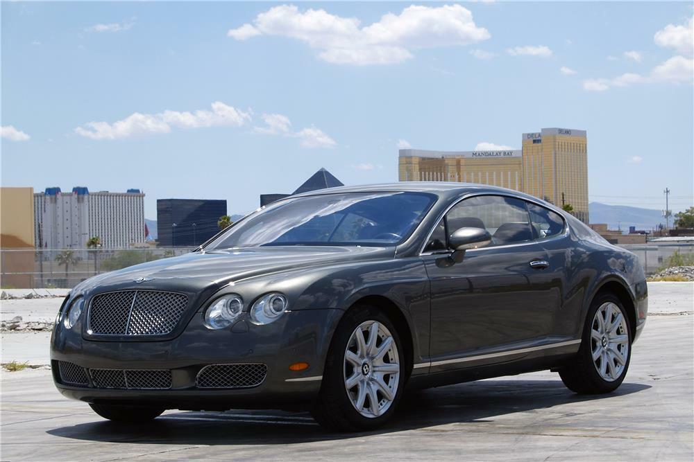 2005 BENTLEY CONTINENTAL GT  - Front 3/4 - 186966