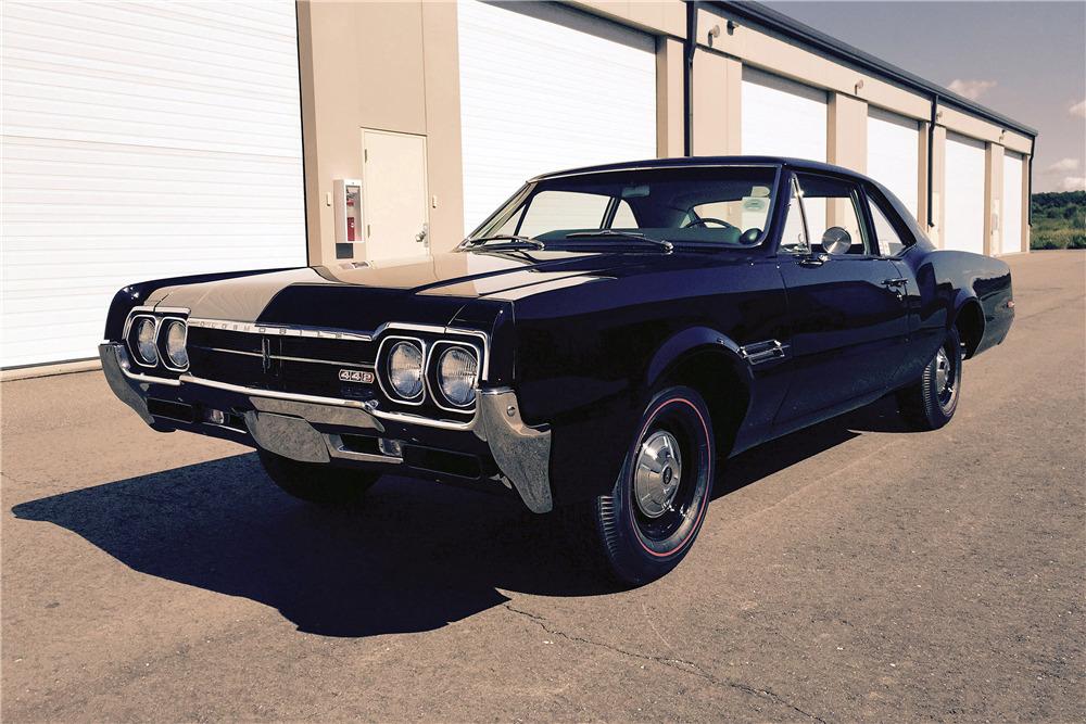 1966 OLDSMOBILE 442 POST