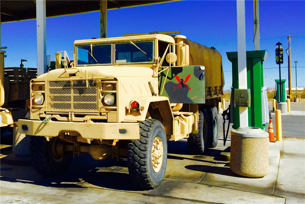 1990 BMY HASCO M923A2 TACTICAL CARGO TRUCK - Front 3/4 - 191287