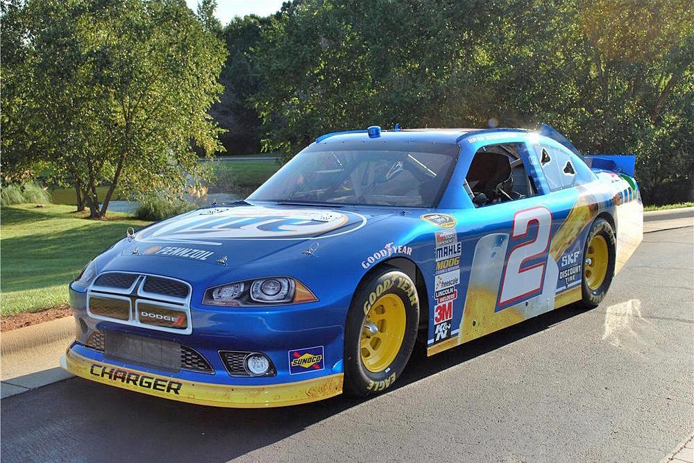 2012 DODGE CHARGER NASCAR RACE CAR - Front 3/4 - 191870