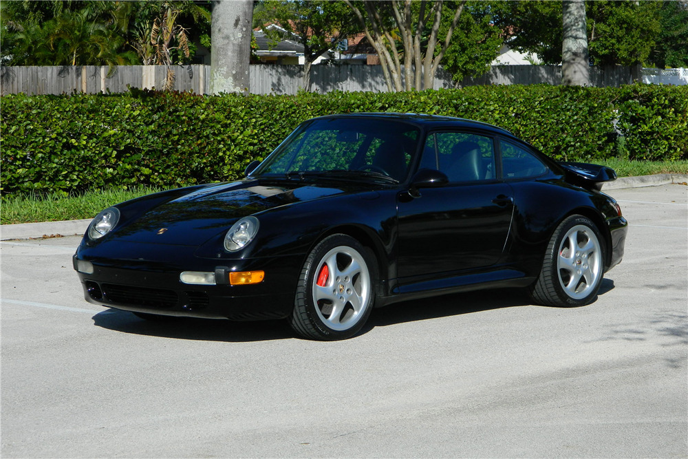 1996 PORSCHE 993 TWIN TURBO - Front 3/4 - 194917