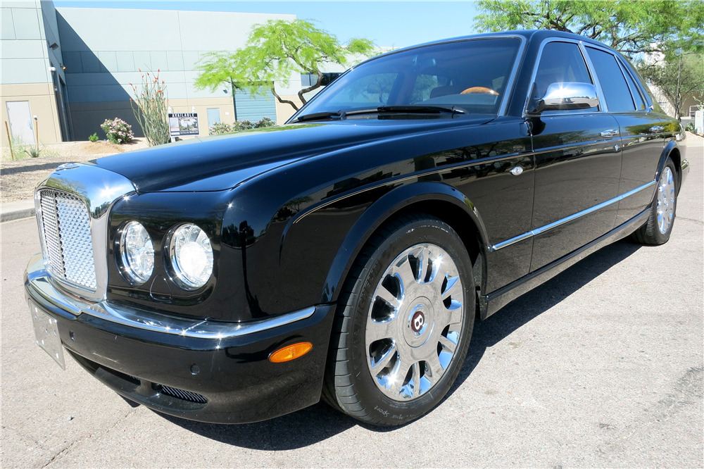 2005 BENTLEY ARNAGE R - Front 3/4 - 195016