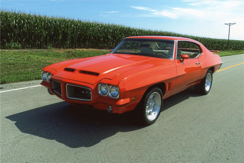 1972 PONTIAC GTO  - Front 3/4 - 198464