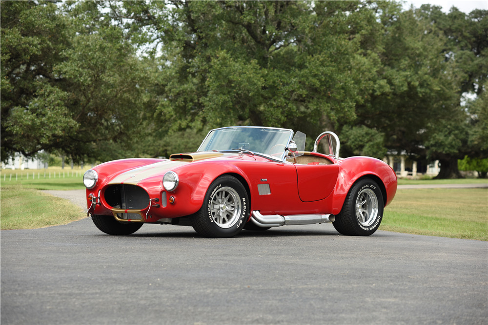 1967 SHELBY COBRA RE-CREATION ROADSTER - Front 3/4 - 199512