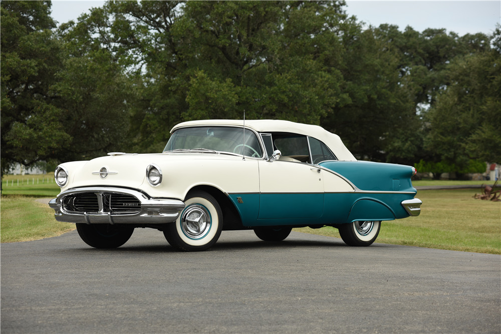 1956 OLDSMOBILE SUPER 88 CONVERTIBLE - Front 3/4 - 199922