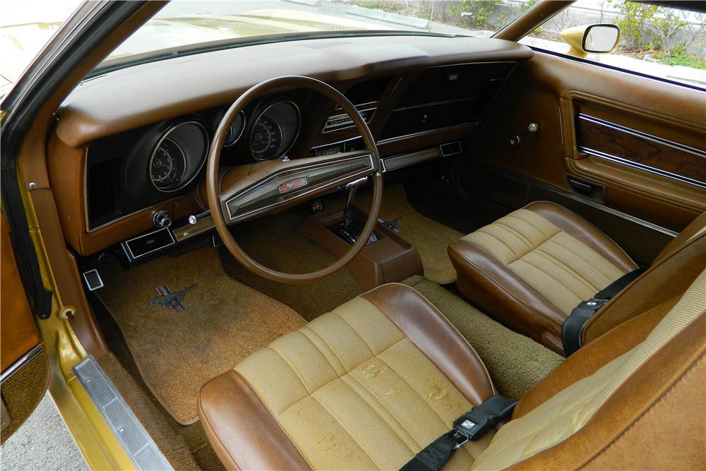 1973 FORD MUSTANG - Interior - 205973