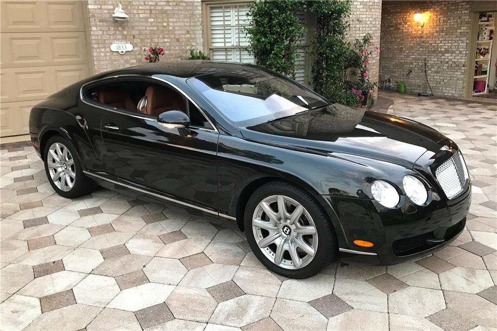 2005 BENTLEY CONTINENTAL GT  - Front 3/4 - 208191
