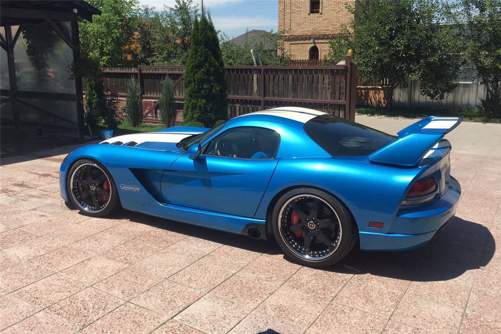 2010 DODGE VIPER HENNESSEY VENOM - Side Profile - 208359