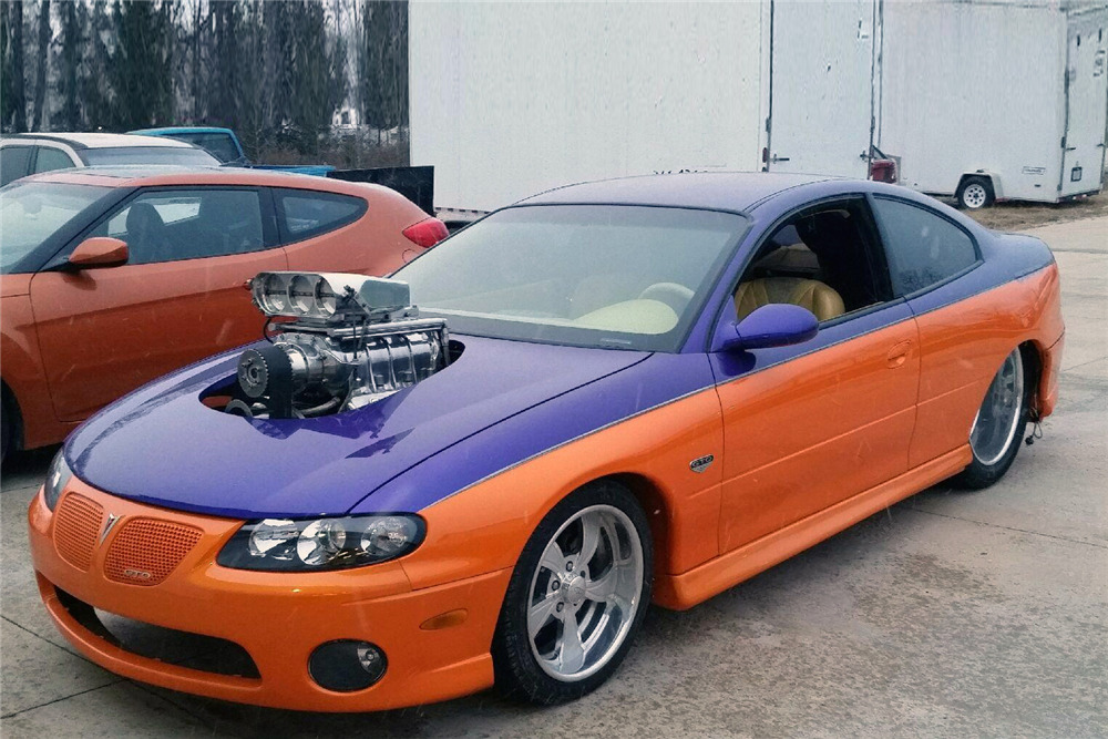 "2003 PONTIAC GTO CUSTOM COUPE ""FAT GTO"" - Front 3/4 - 210402"