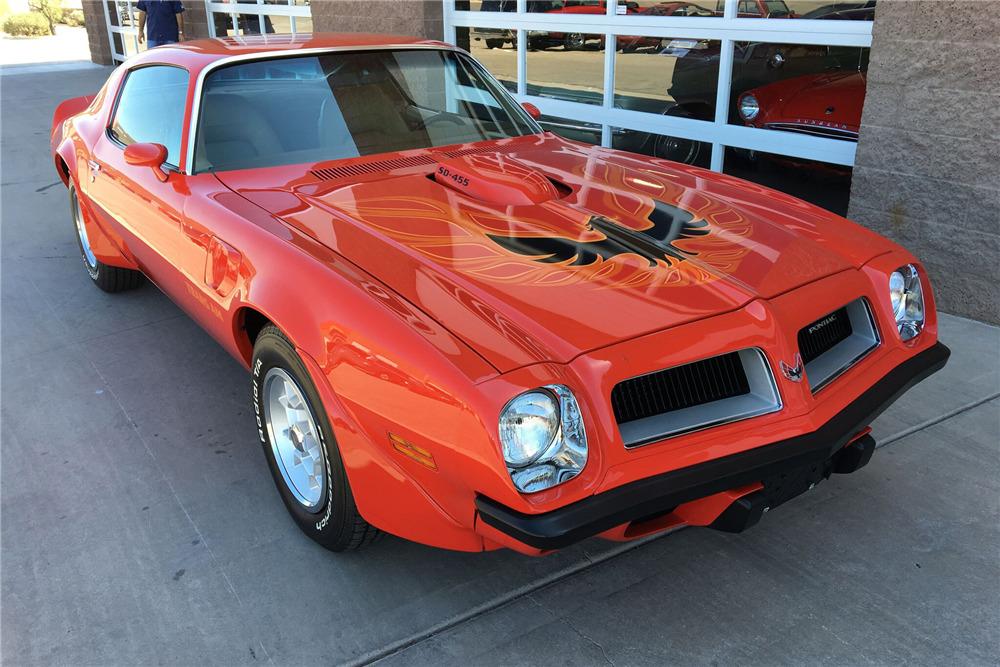 1974 PONTIAC FIREBIRD TRANS AM SUPER DUTY - Front 3/4 - 211075