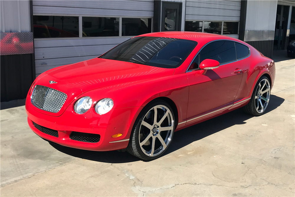 2006 BENTLEY CONTINENTAL GT COUPE - Front 3/4 - 212694
