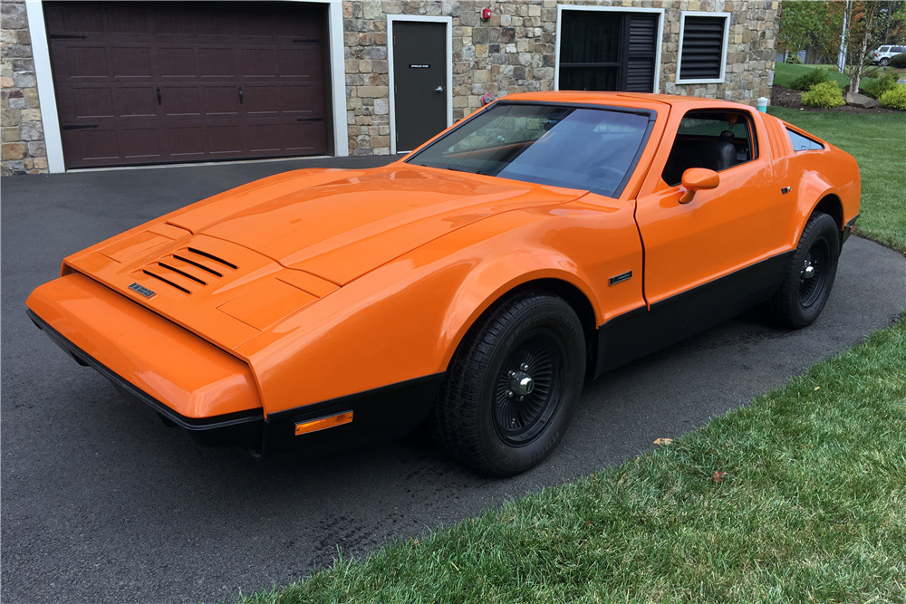 1974 BRICKLIN SV-1 GULLWING COUPE - Front 3/4 - 213168