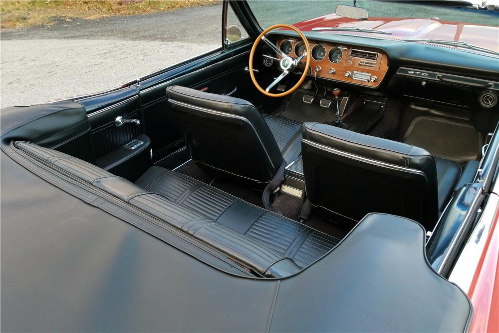 1966 PONTIAC GTO CONVERTIBLE - Interior - 213345