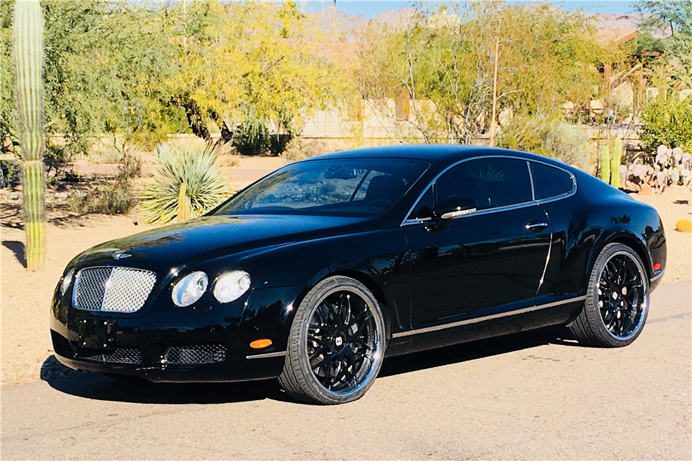 2005 BENTLEY CONTINENTAL GT - Front 3/4 - 214254