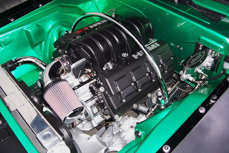 1970 PLYMOUTH 'CUDA CUSTOM COUPE - Engine - 216441