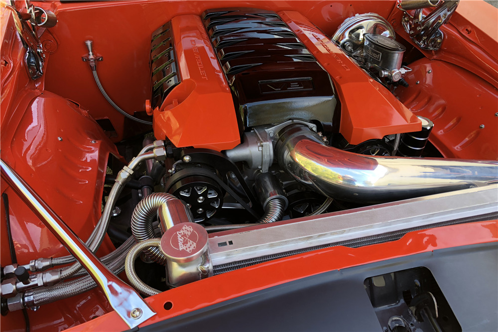 1969 CHEVROLET CAMARO RS CUSTOM COUPE - Engine - 217579