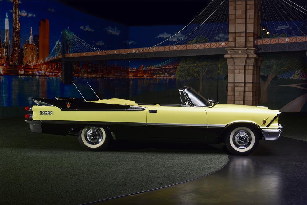 1959 DODGE CUSTOM ROYAL SUPER D-500 CONVERTIBLE - Side Profile - 217635