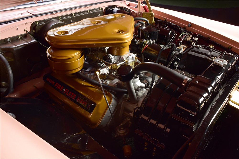 1956 DESOTO FIREFLITE CONVERTIBLE - Engine - 217638