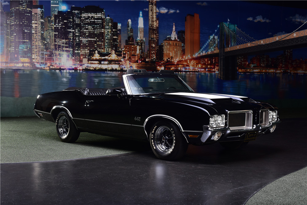 1971 OLDSMOBILE 442 CONVERTIBLE - Front 3/4 - 217669