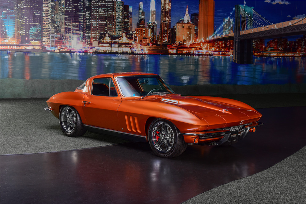 1965 CHEVROLET CORVETTE CUSTOM COUPE - Front 3/4 - 217677