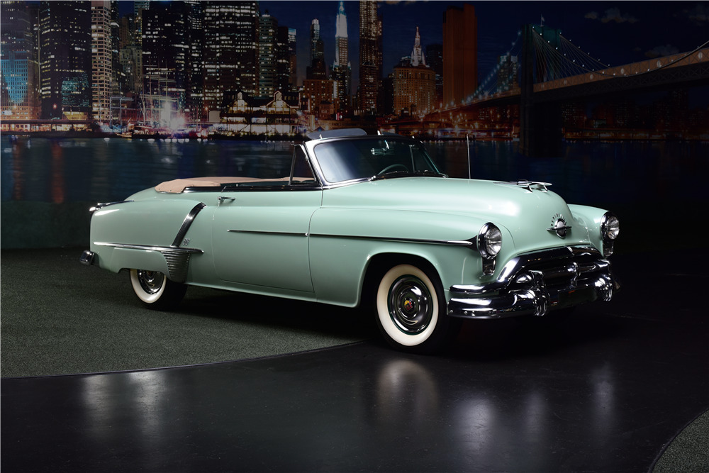1952 OLDSMOBILE SUPER 88 CONVERTIBLE - Front 3/4 - 217721
