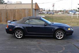 2001 FORD MUSTANG COBRA CONVERTIBLE - Side Profile - 217774