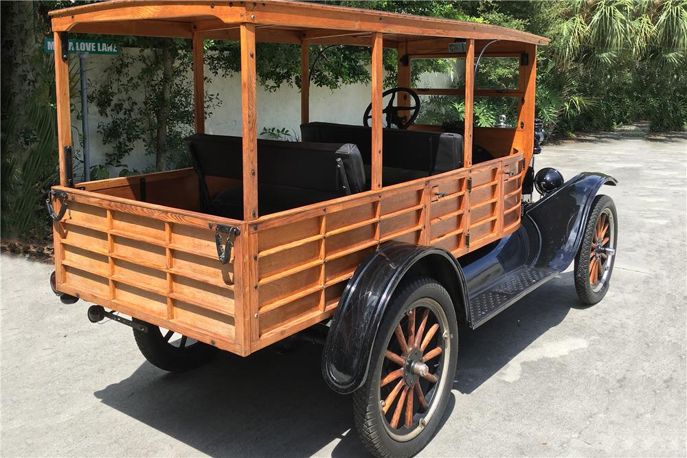 1925 FORD DEPOT HACK - Rear 3/4 - 217775