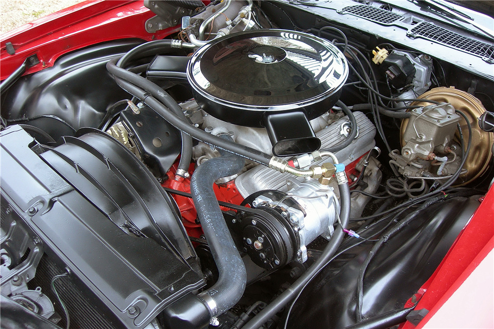 1970 CHEVROLET CAMARO - Engine - 217808