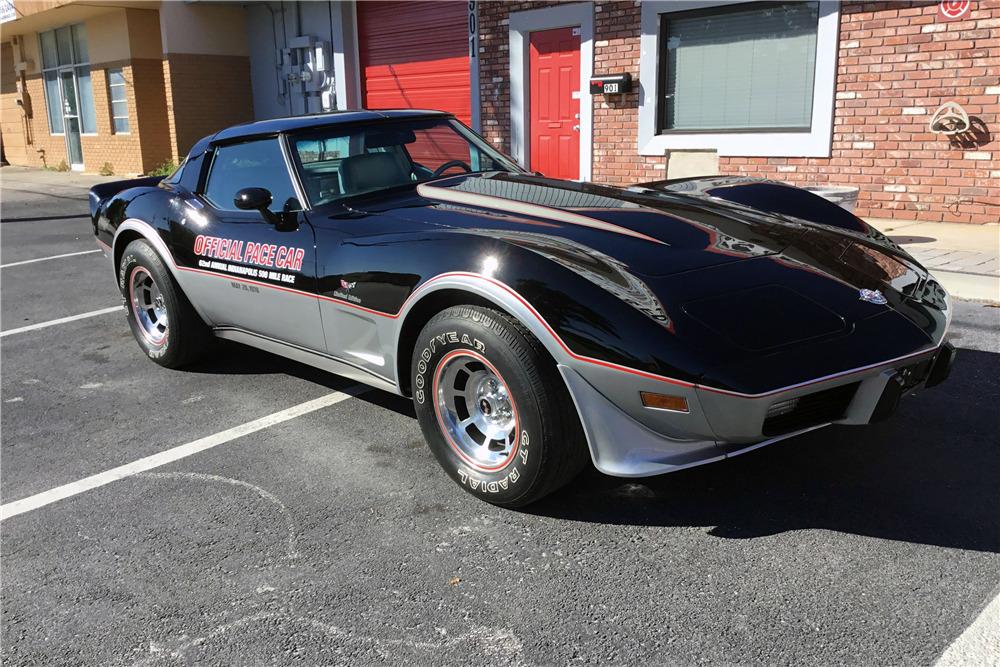 1978 CHEVROLET CORVETTE 350/185 PACE CAR - Front 3/4 - 217823