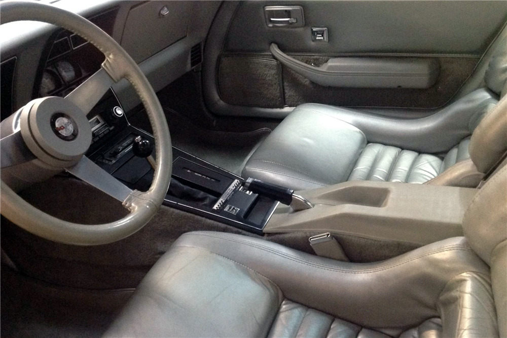 1978 CHEVROLET CORVETTE 350/185 PACE CAR - Interior - 217823